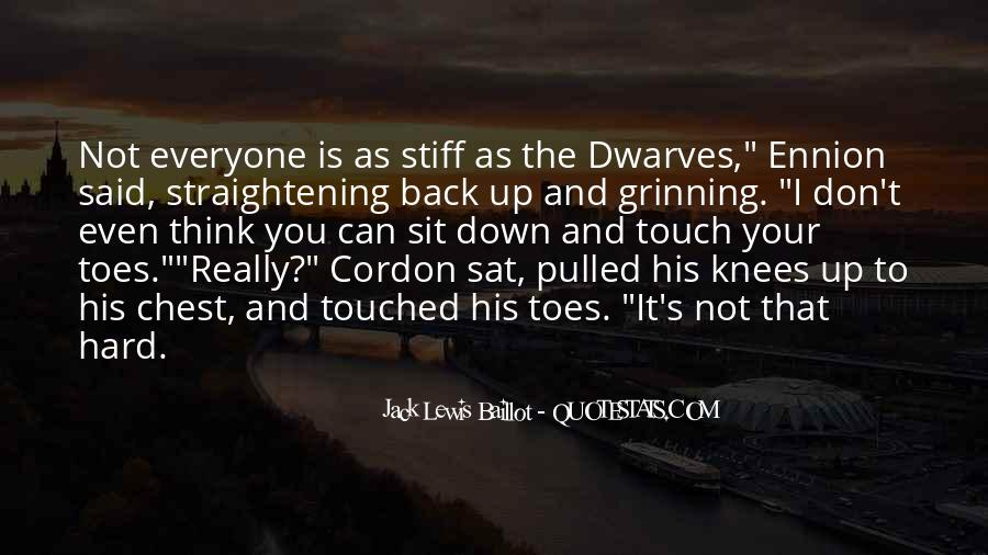 Quotes About His Touch #118176