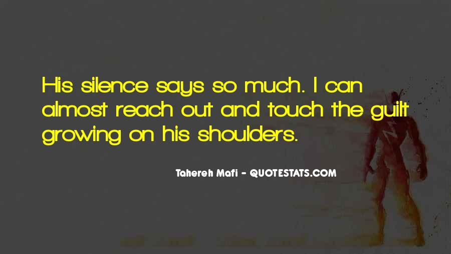 Quotes About His Touch #120873