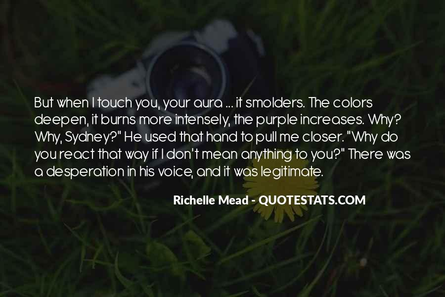Quotes About His Touch #128584