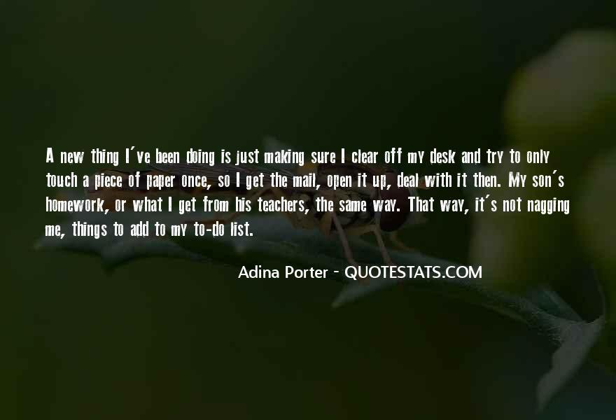 Quotes About His Touch #136954