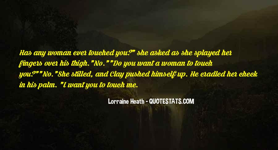 Quotes About His Touch #165057
