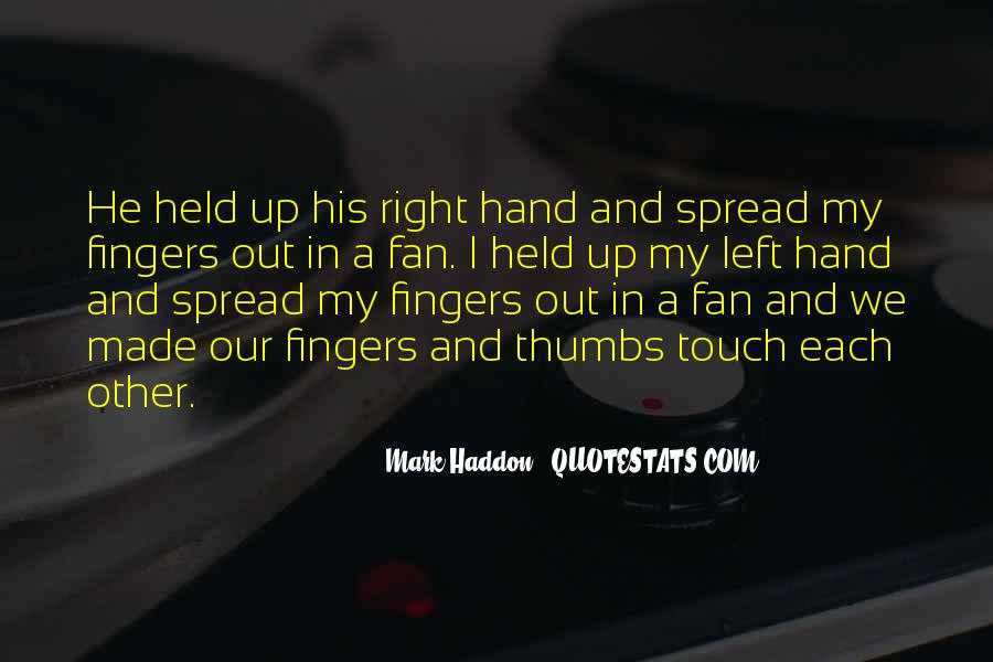 Quotes About His Touch #208937