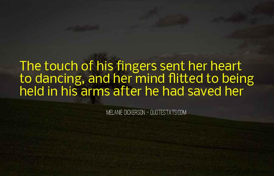 Quotes About His Touch #211063