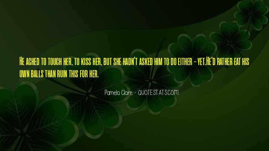 Quotes About His Touch #212281