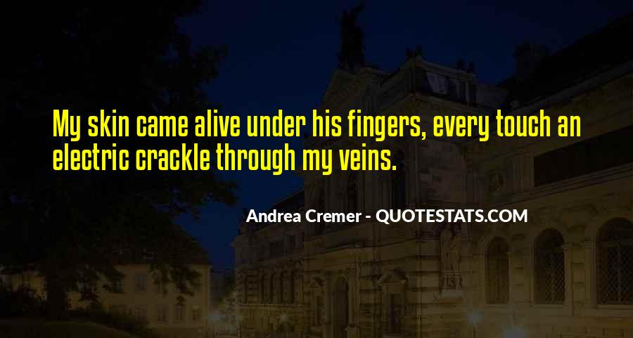 Quotes About His Touch #213127