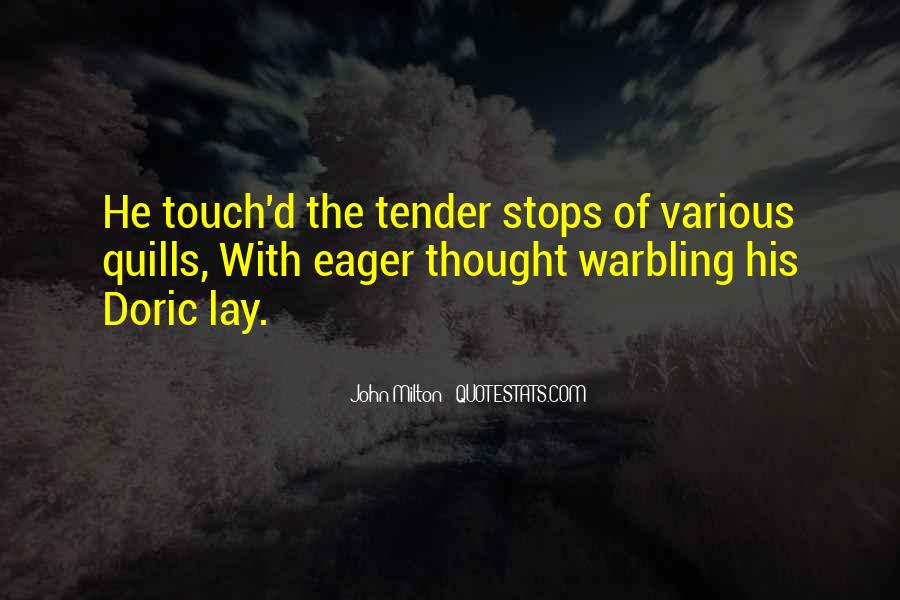 Quotes About His Touch #216663