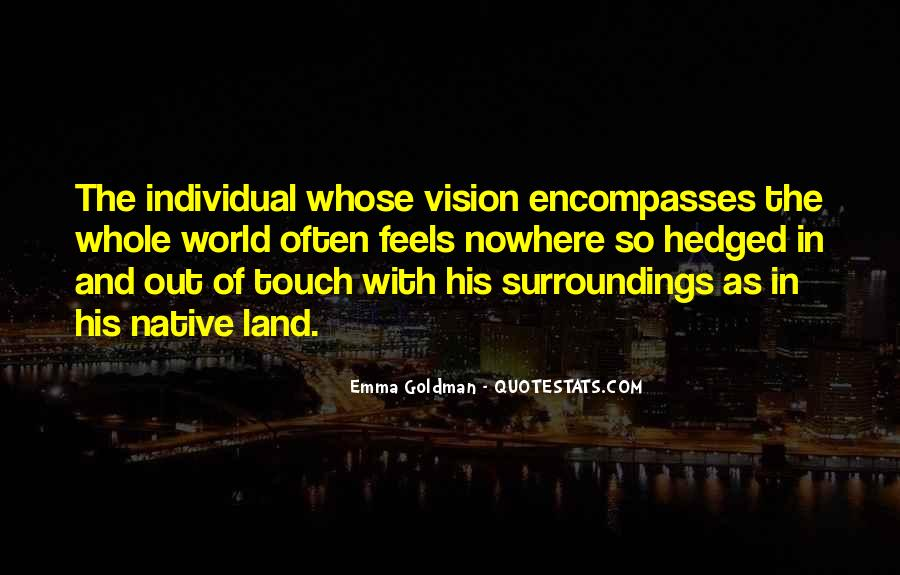 Quotes About His Touch #2381