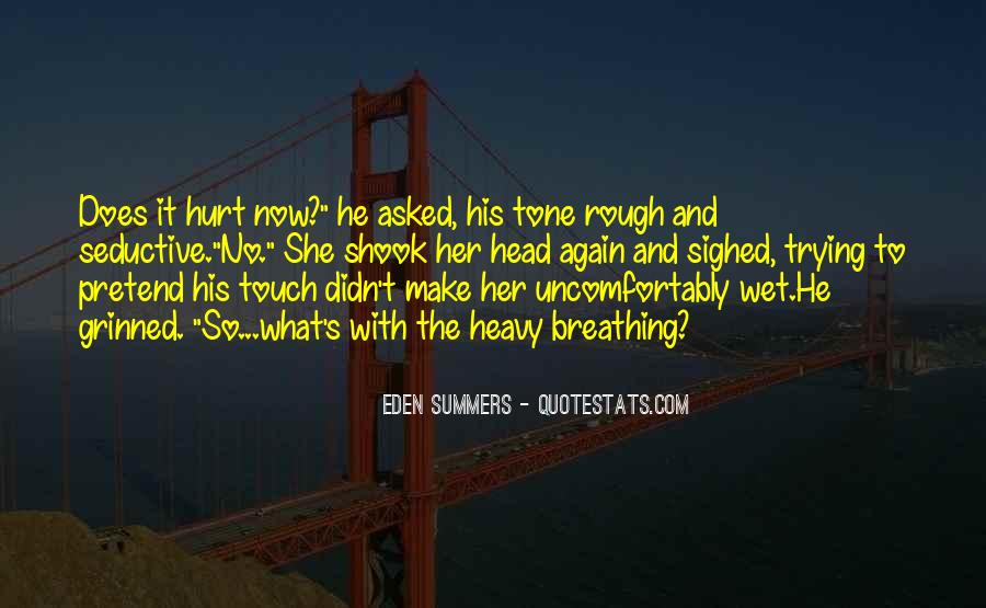 Quotes About His Touch #72145