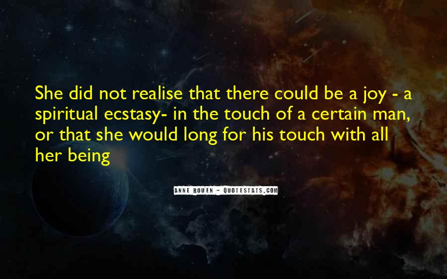 Quotes About His Touch #78087