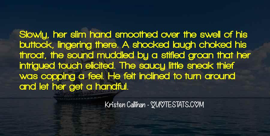 Quotes About His Touch #82741