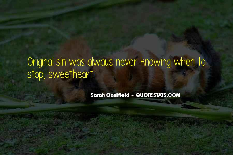 Quotes About Knowing It's Not Over #11586