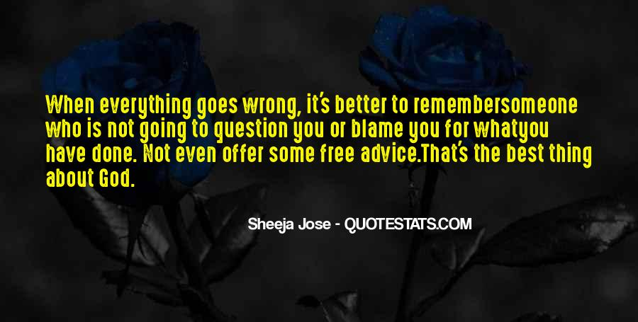 Quotes About Love Going Wrong #51496