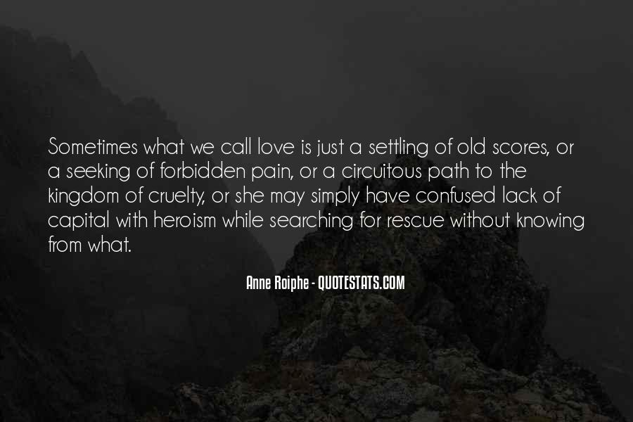 Quotes About Not Settling #287666