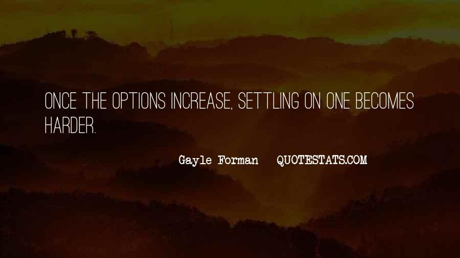 Quotes About Not Settling #358262