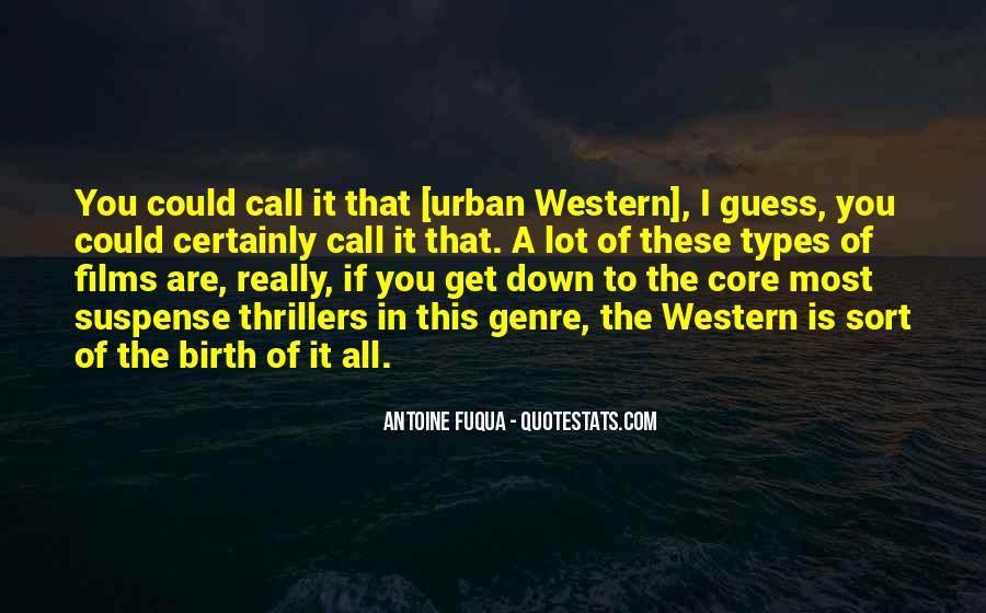 Quotes About Western Genre #1110004