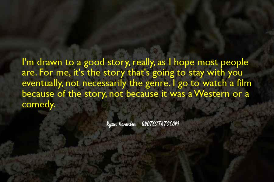 Quotes About Western Genre #1330848