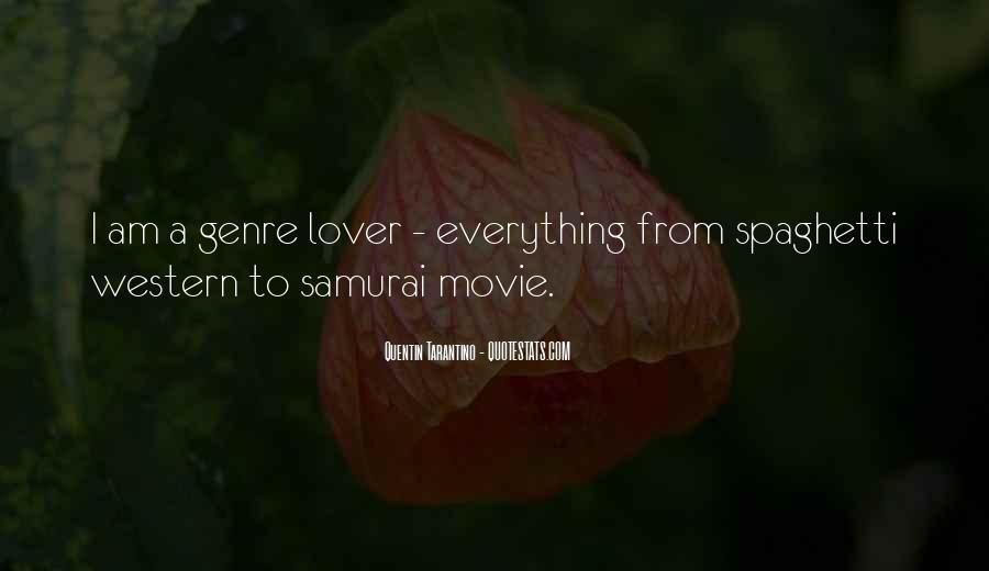 Quotes About Western Genre #1512545