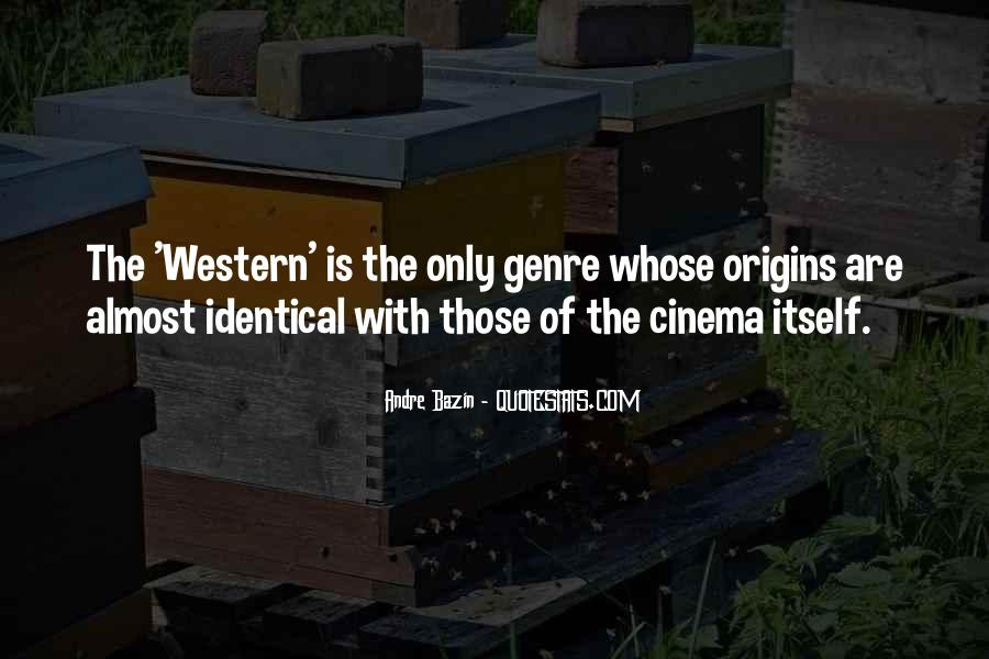 Quotes About Western Genre #154849