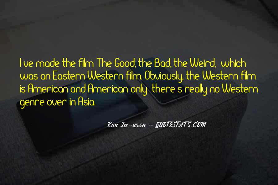 Quotes About Western Genre #1852670