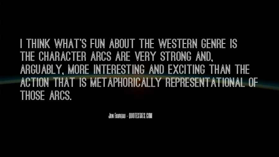 Quotes About Western Genre #231953