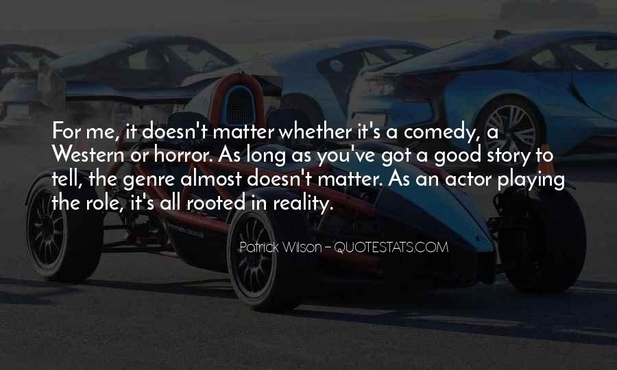 Quotes About Western Genre #284667