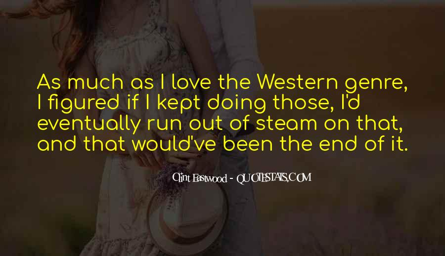 Quotes About Western Genre #415926