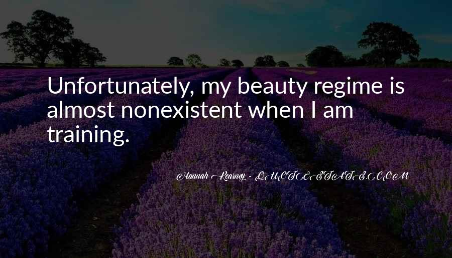Quotes About Beauty Regime #813767