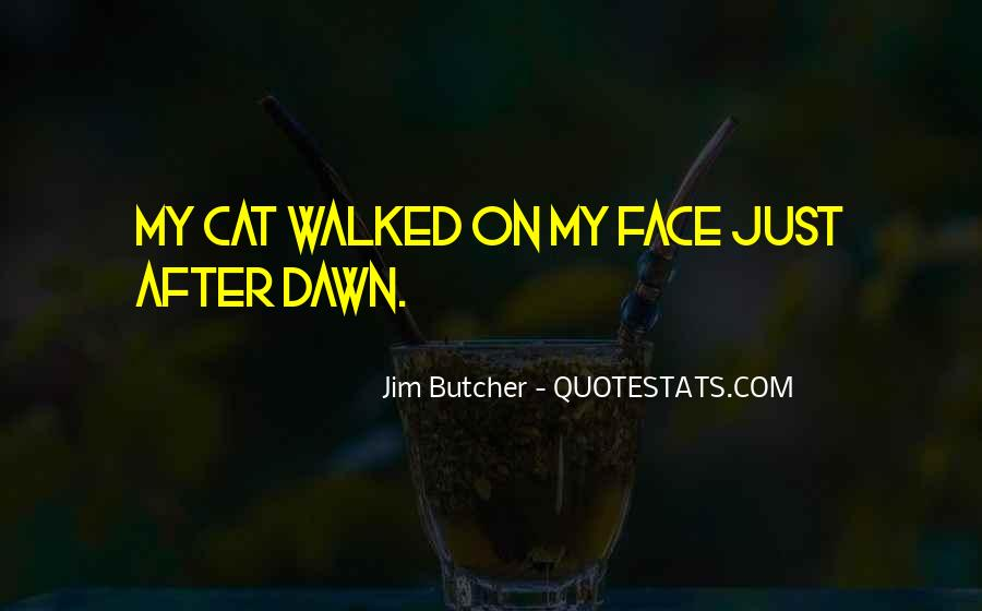 Quotes About Cat Face #402427