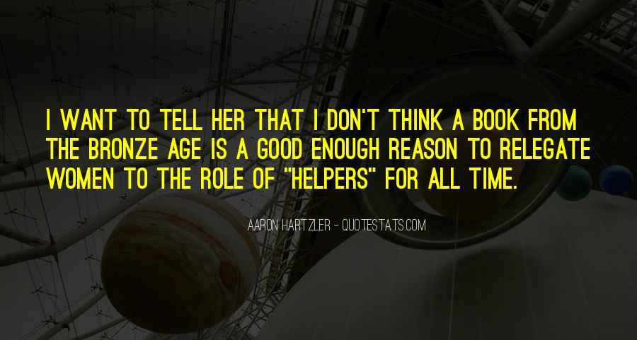 Quotes About Helpers #1614657