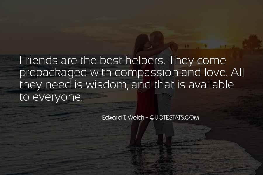 Quotes About Helpers #738174