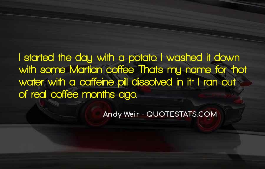 Quotes About Caffeine #1034792
