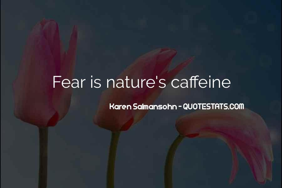 Quotes About Caffeine #626345