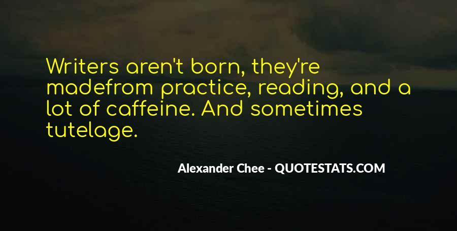 Quotes About Caffeine #743182