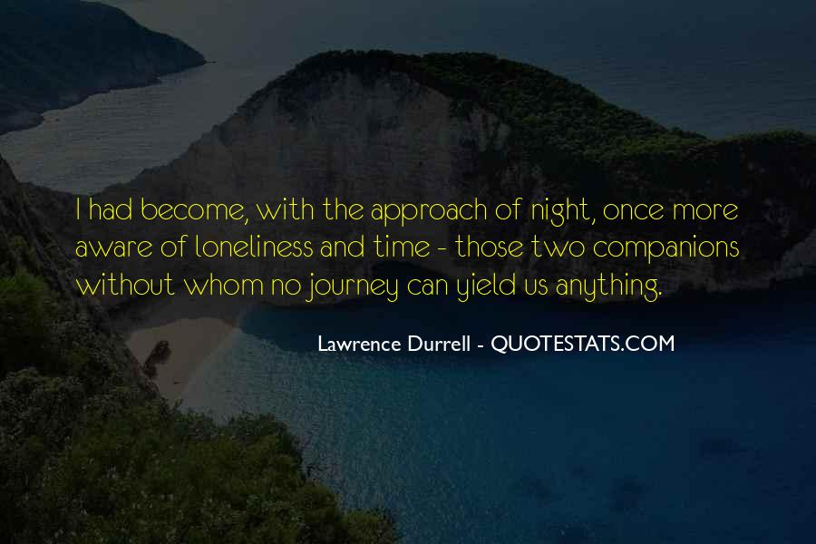 Quotes About Night Time Loneliness #1606497