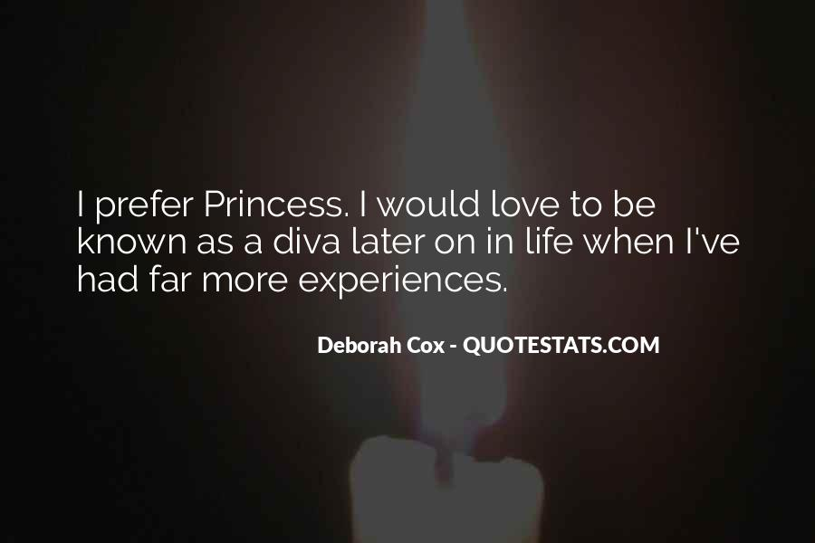 Quotes About Experiences In Love #106276