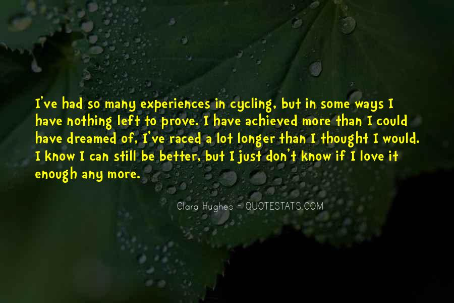 Quotes About Experiences In Love #1432167