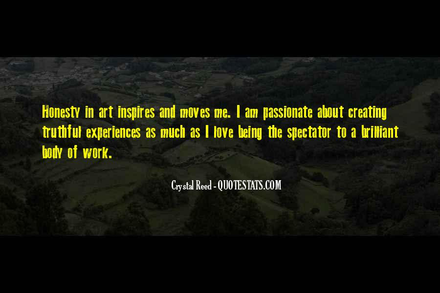Quotes About Experiences In Love #1434519