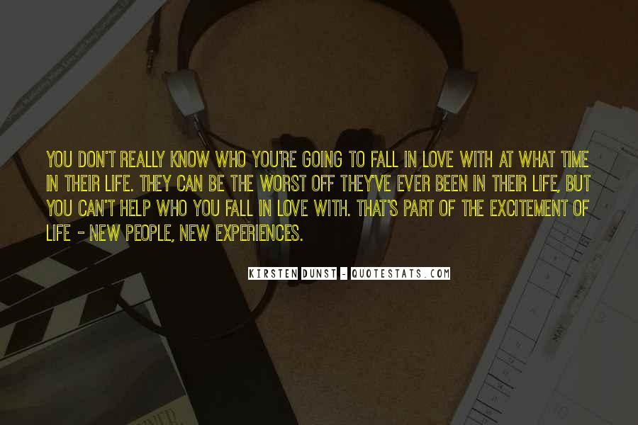 Quotes About Experiences In Love #1850325