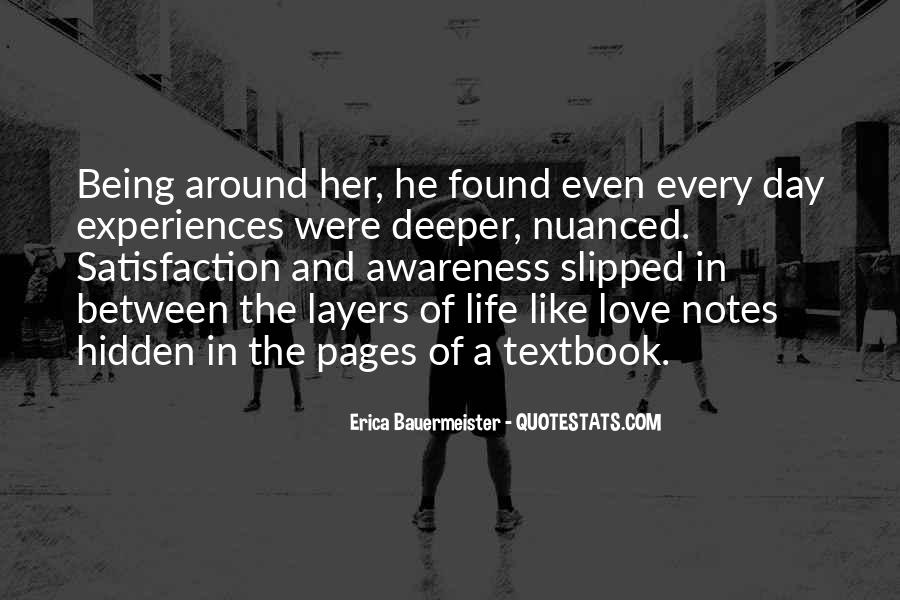 Quotes About Experiences In Love #433442