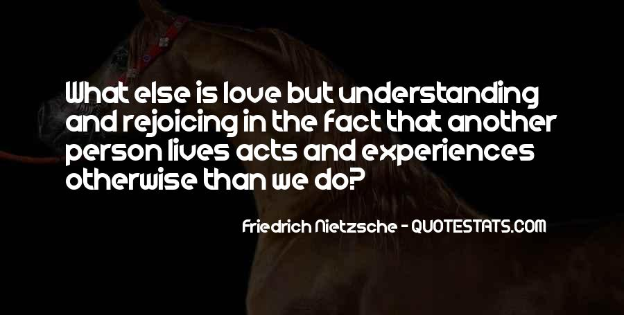 Quotes About Experiences In Love #534622