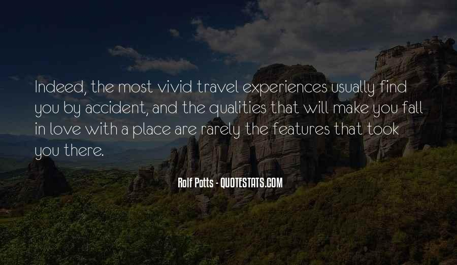 Quotes About Experiences In Love #860192