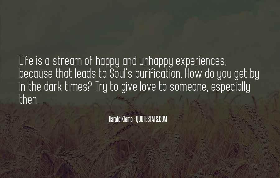 Quotes About Experiences In Love #883488