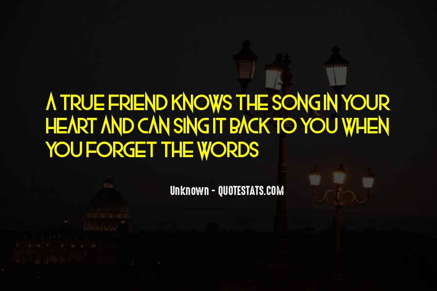 Quotes About Heart And Friendship #1153080