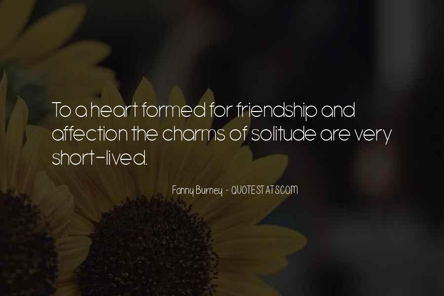 Quotes About Heart And Friendship #168269