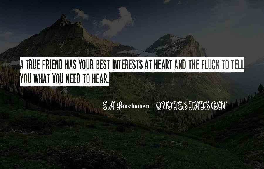 Quotes About Heart And Friendship #323391