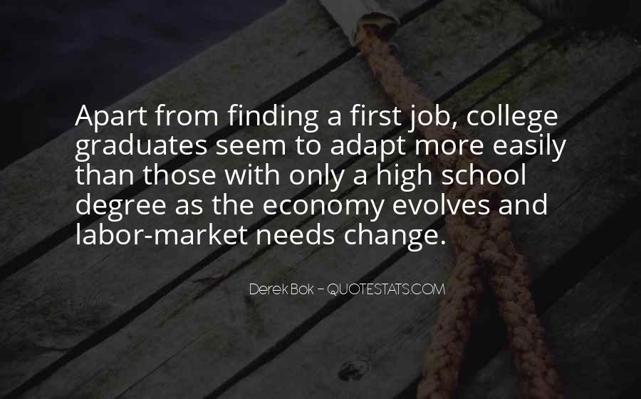 Quotes About Finding A Job After College #381746