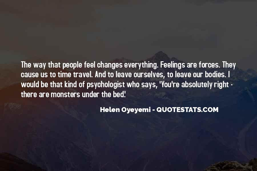 Quotes About Right Feelings #239979