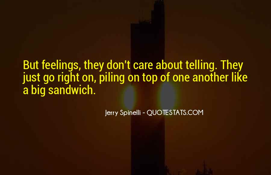Quotes About Right Feelings #34430