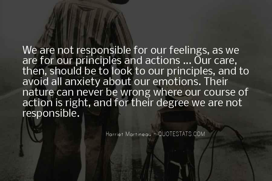 Quotes About Right Feelings #393779