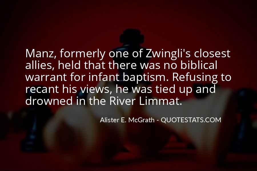 Quotes About Infant Baptism #1618211